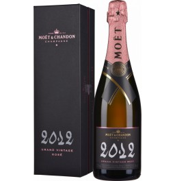 "Шампанское Moet & Chandon, ""Grand Vintage"" Rose, 2012, gift box"