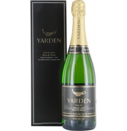 "Игристое вино Golan Heights, ""Yarden"" Blanc de Blancs Brut, 2011, gift box"