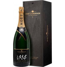 "Шампанское Moet & Chandon, ""Grand Vintage"", 1985, wooden box, 1.5 л"