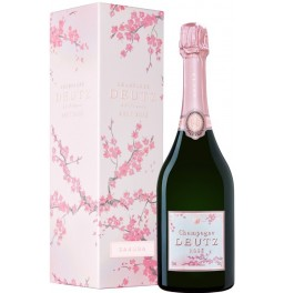 "Шампанское Deutz, Brut Rose, gift box ""Sakura"""